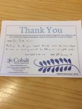 Thank you from Cobalt Health!