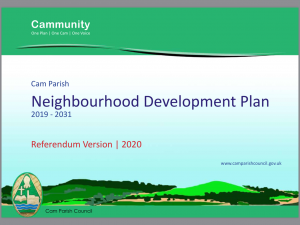 Cam's Neighbourhood Development Plan - approved by Stroud District Council