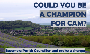 Vacancy for Parish Councillors in Cam