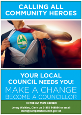 Become a Councillor for Cam Parish