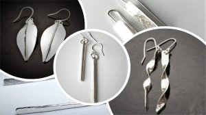 Sterling Silver Earrings with Wendy Murphy - £85