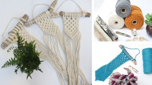 Macrame Wall Hangings with Jen Walsh - £40