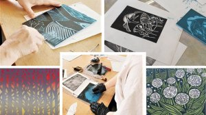 Introduction to Lino Cut Printing with Beth Jenkins - £74